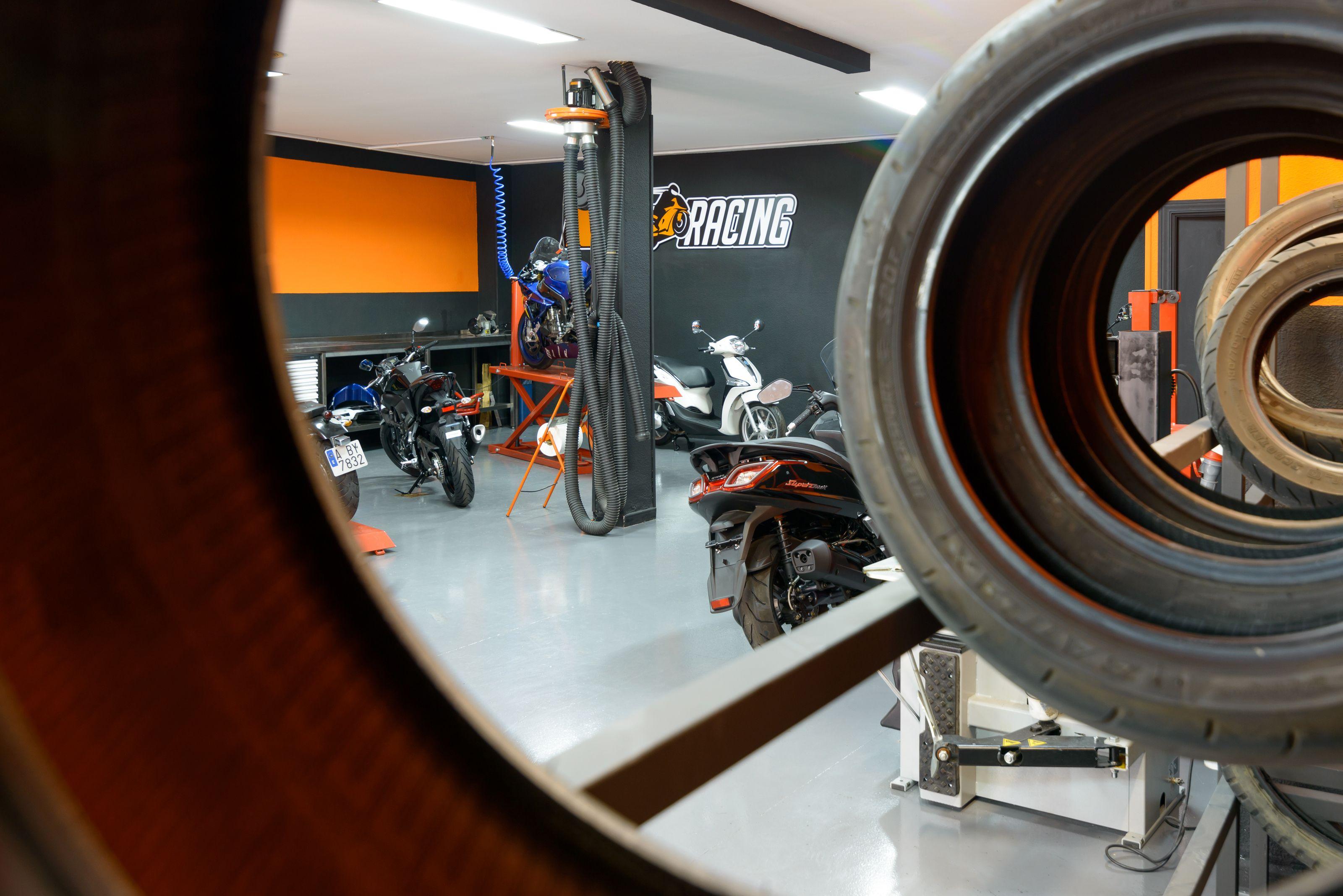 Reparación de motos en Alcobendas