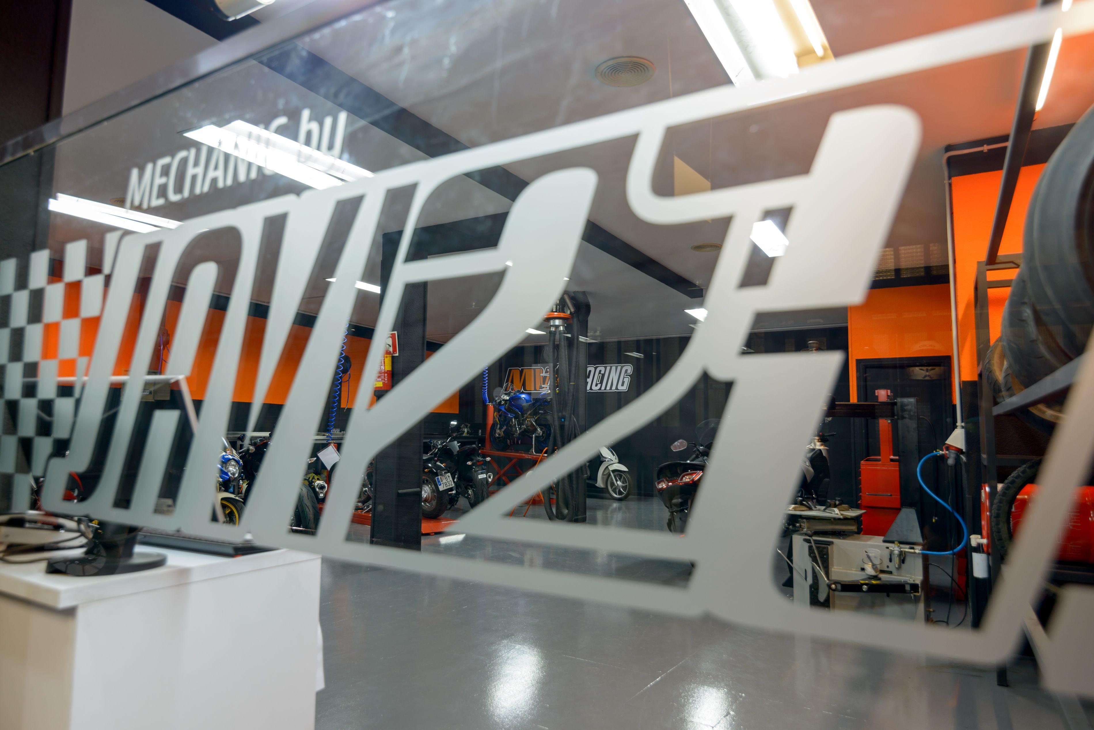Preparación de motos para competición en Alcobendas