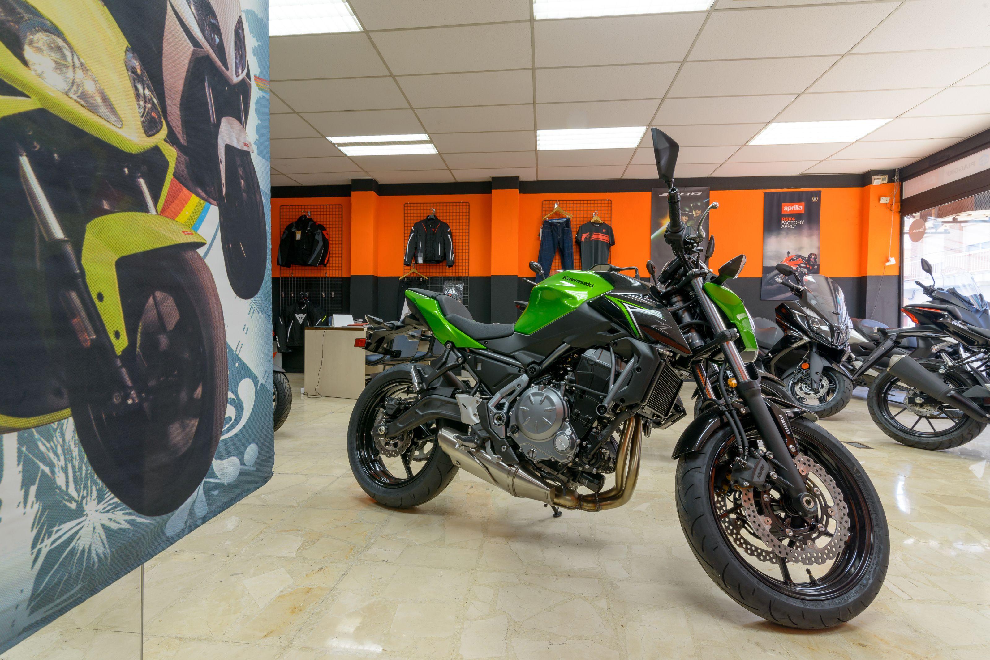 Venta de motos de las mejores marcas del mercado en Alcobendas