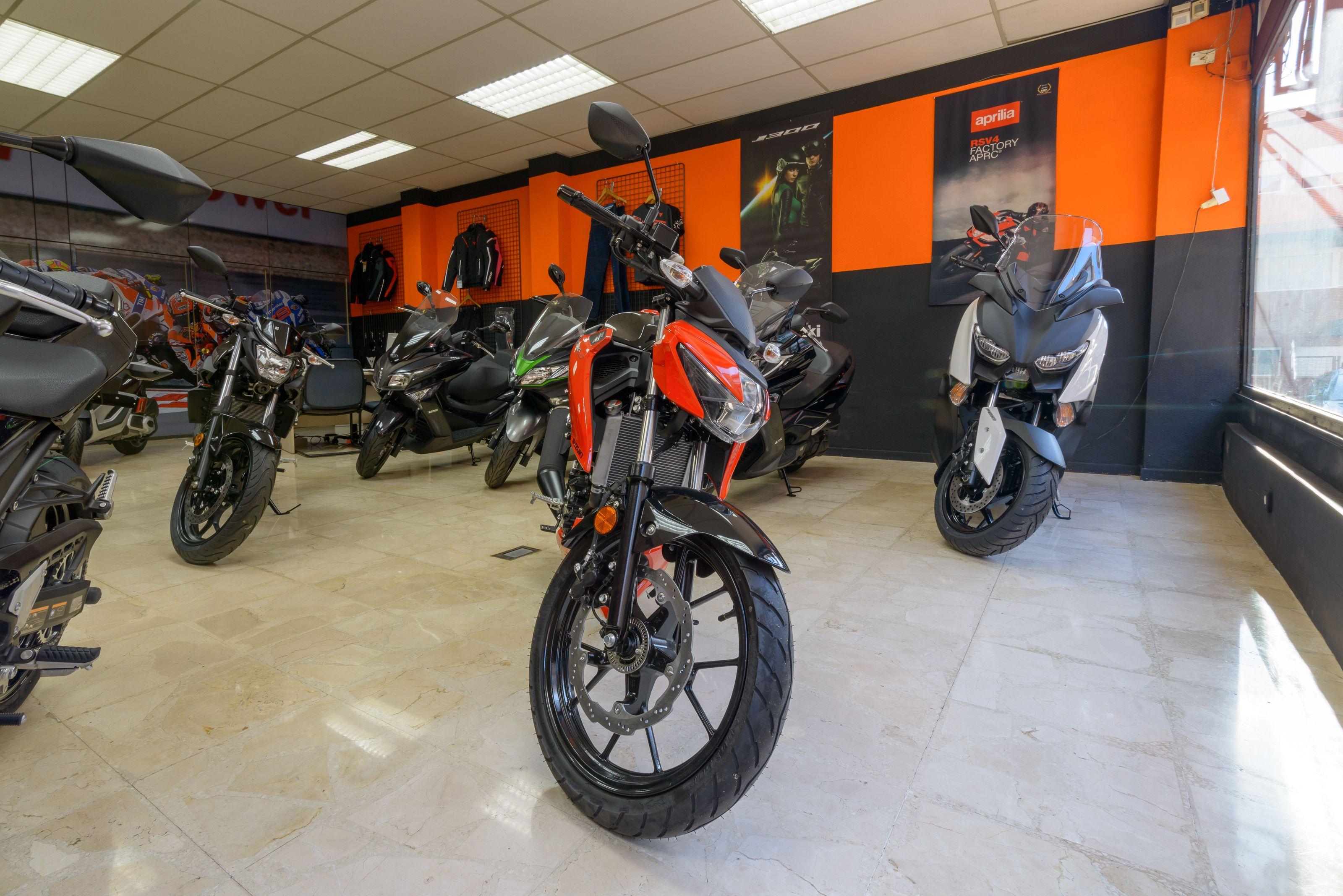 Un gran espacio para escoger la moto de tus sueños en Alcobendas