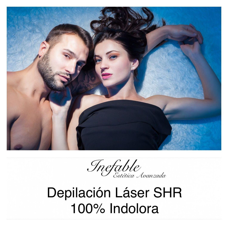 Depilación láser SHR 100% Indolora