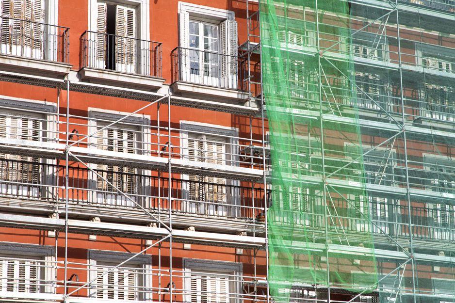 Rehabilitación de fachadas en Palencia