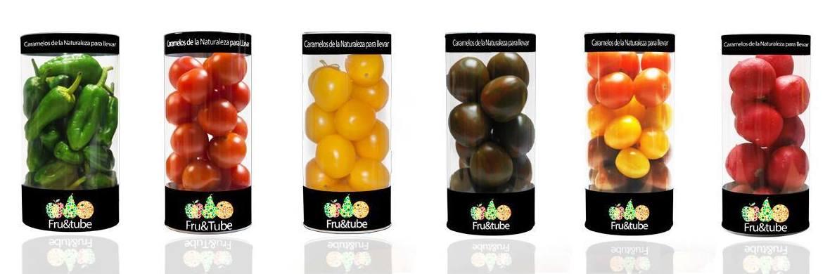 Fruta y verdura en envase ideal para su transporte, conservación y consumo