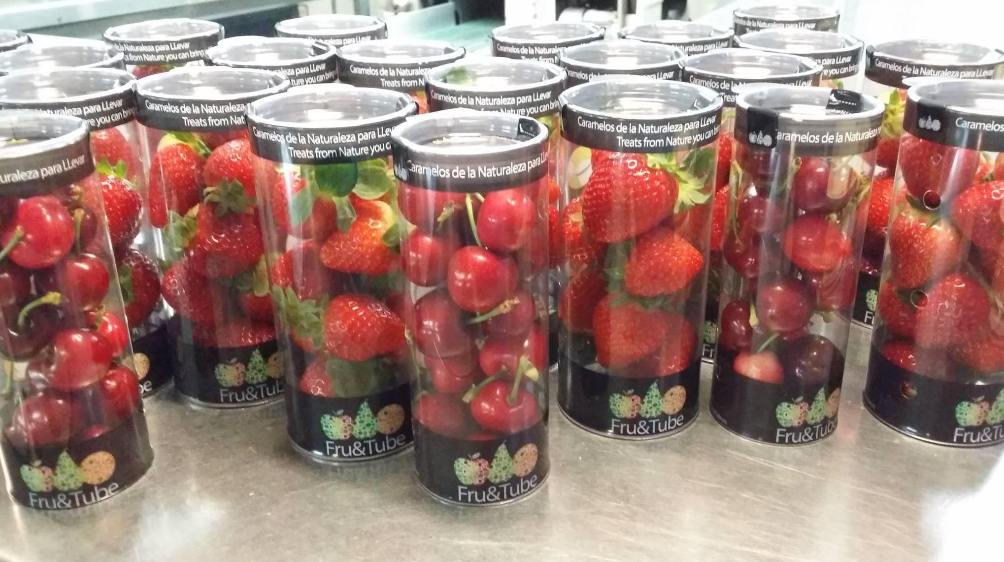 Distribución de fruta envasada para máquinas vending en Madrid