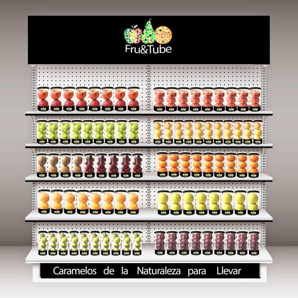 Fruitube,  snack saludable a cualquier hora del día
