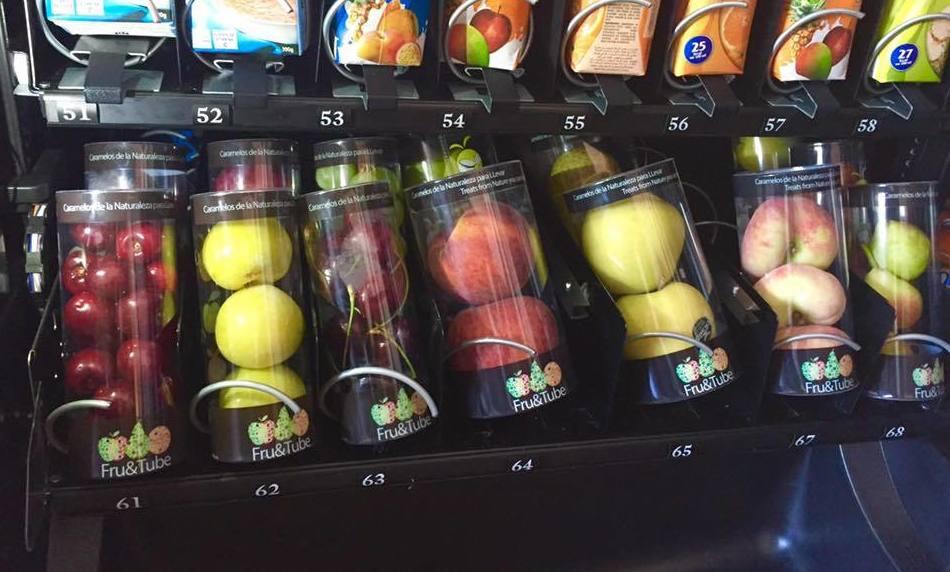 Vending sano en Madrid