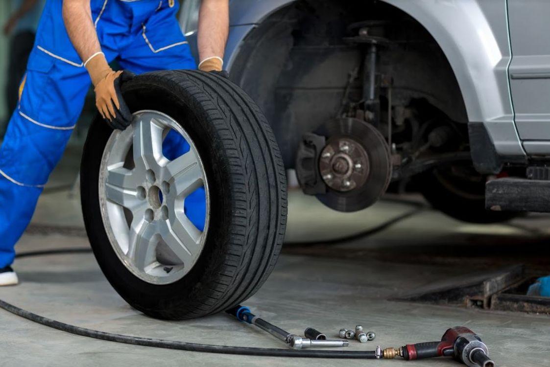 Los neumáticos siempre en perfecto estado
