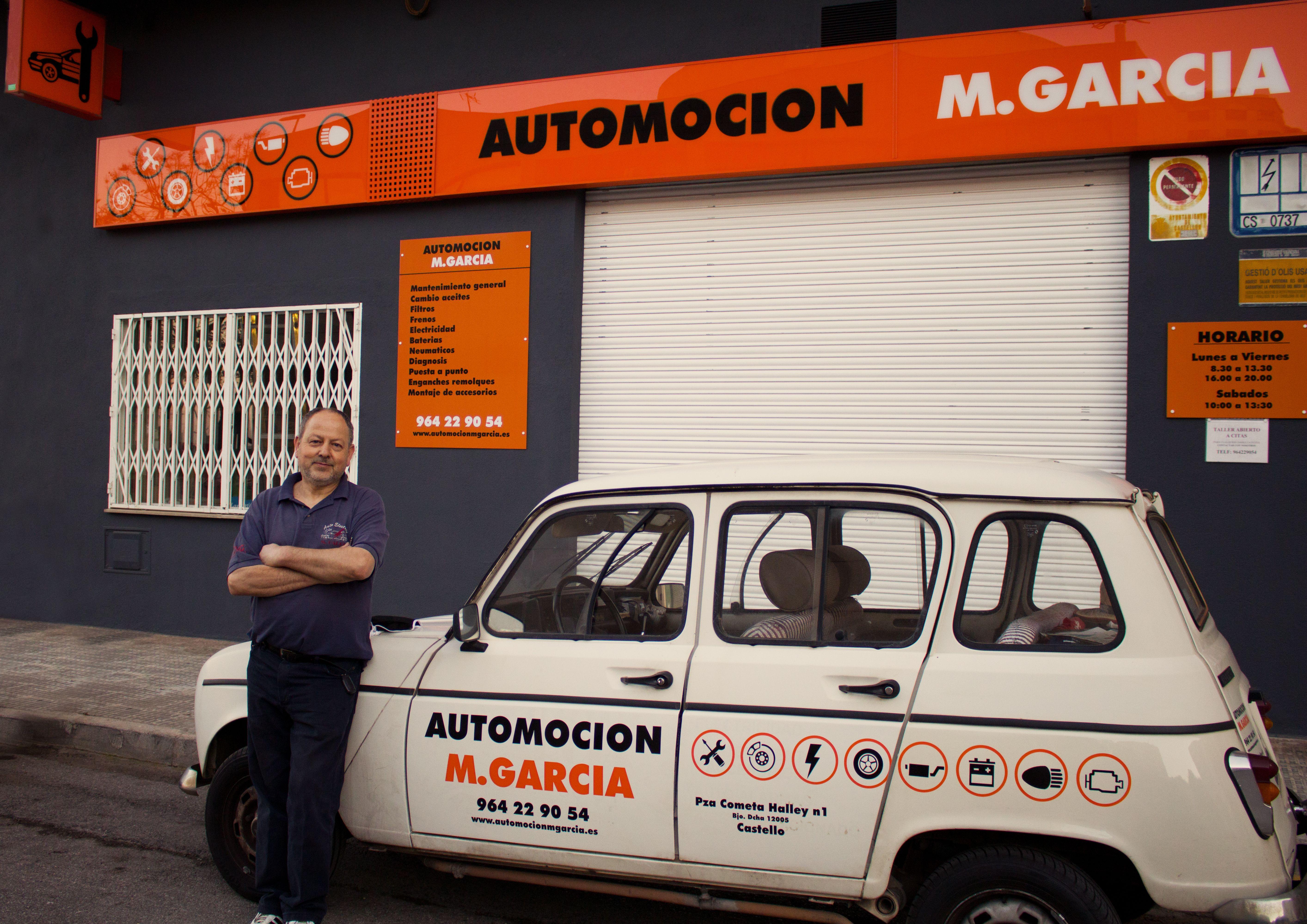 Electro mecánica del automóvil en Castellón