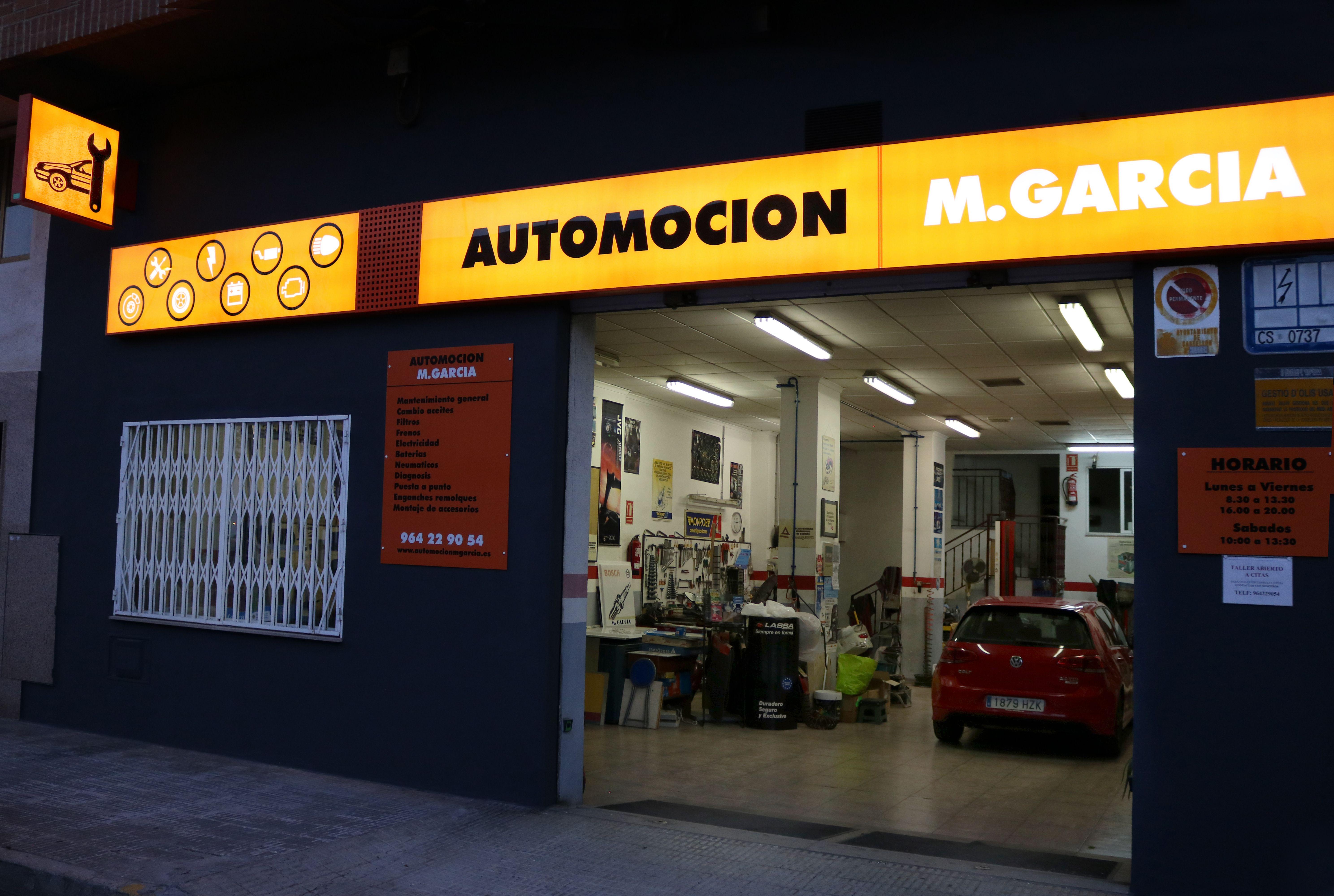 Automoción M.García, Taller electro mecánico multimarca en Castellón