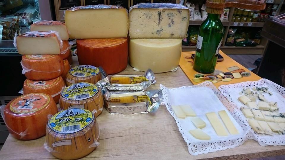 Excelentes quesos en Embajadores Madrid