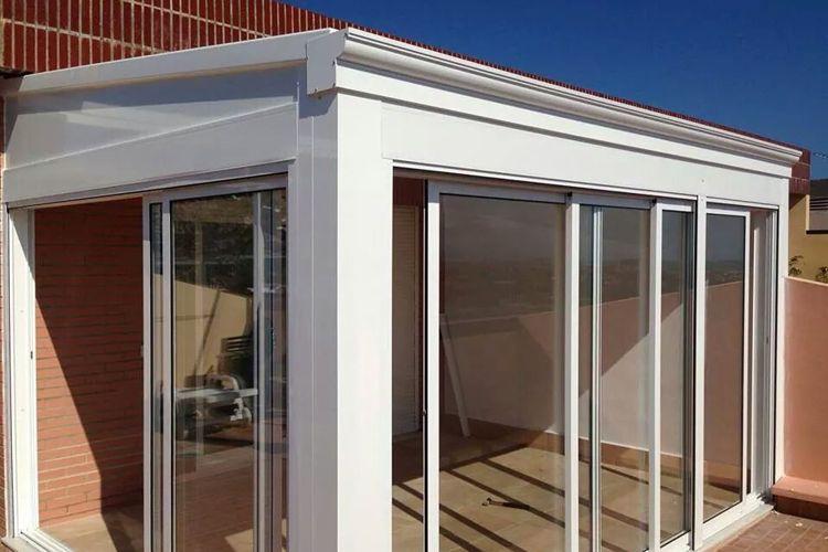 Cerramientos de terrazas de aluminio en Alicante