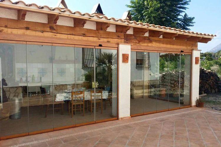 Cortinas de cristal en Alicante