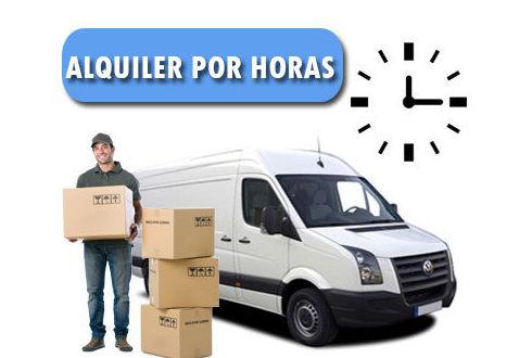Alquiler por horas: Servicios de Portes y pequeñas mudanzas