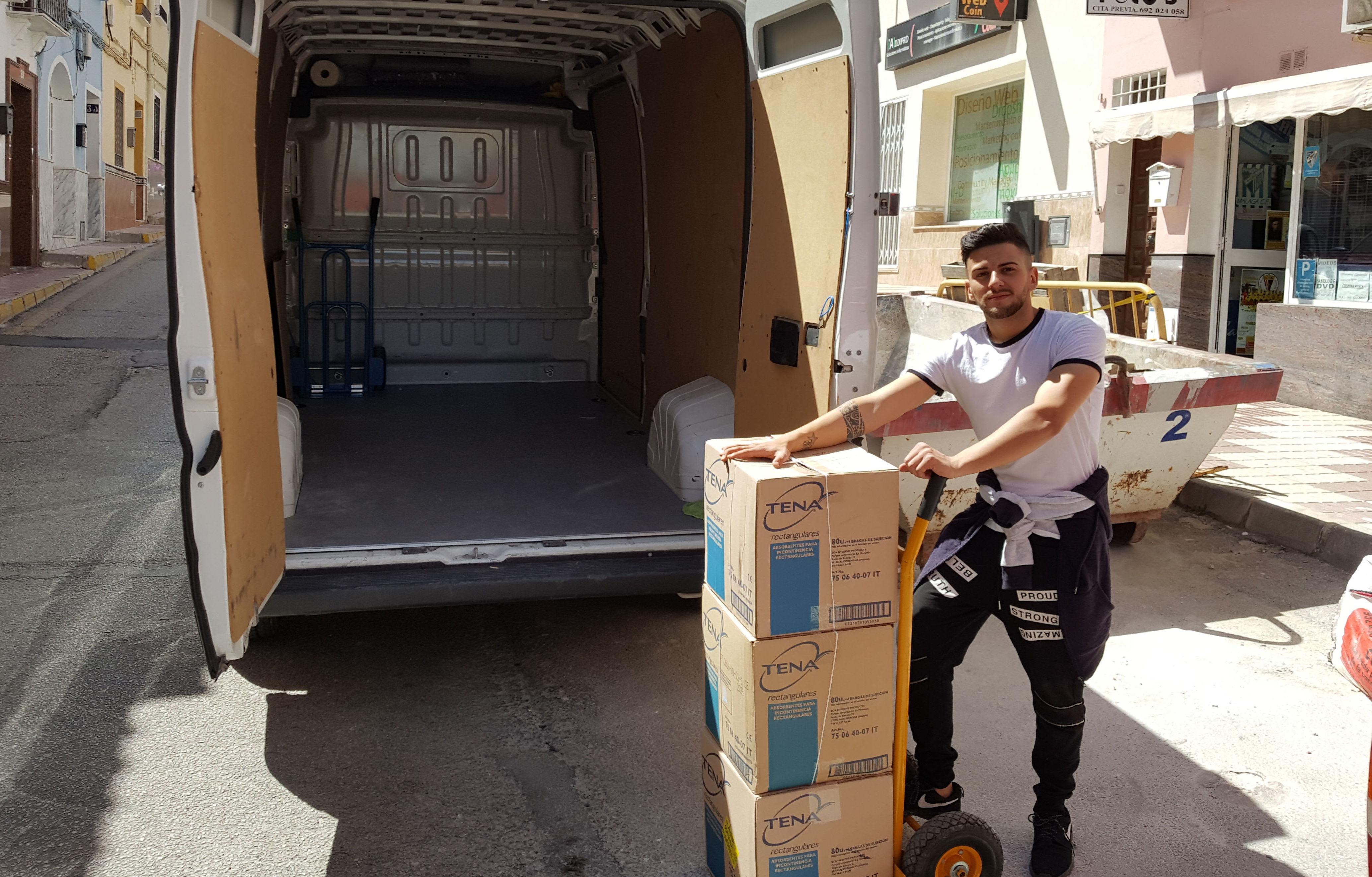 Mudanzas en Malaga: Servicios de Portes y pequeñas mudanzas