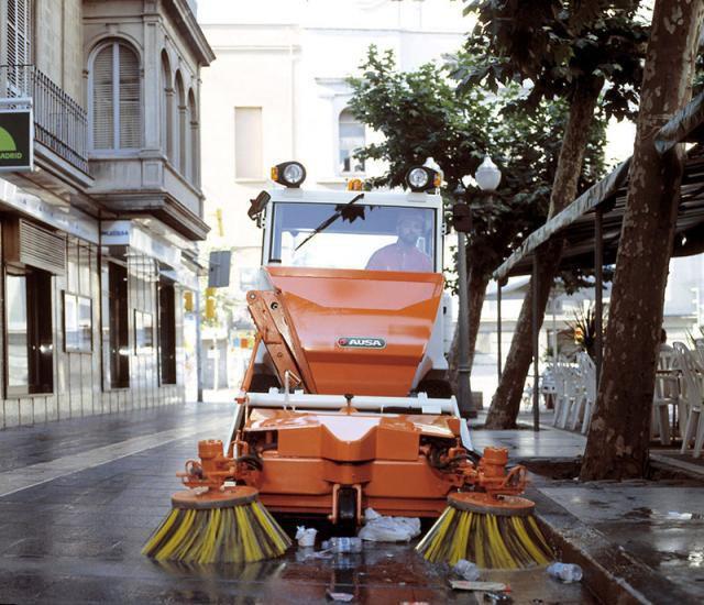 Máquinas Ausa en Toledo
