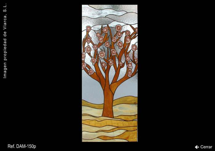 Vidriera árbol