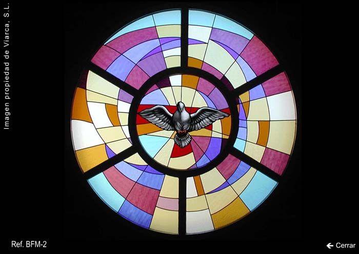 Vidriera religiosa \u0022Espíritu Santo\u0022