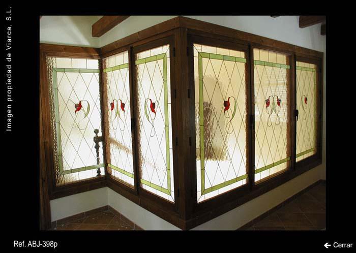 Vidrieras geométricas