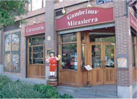 Foto 1 de Cocina tradicional en Madrid | Cervecería Restaurante Gambrinus Mirasierra
