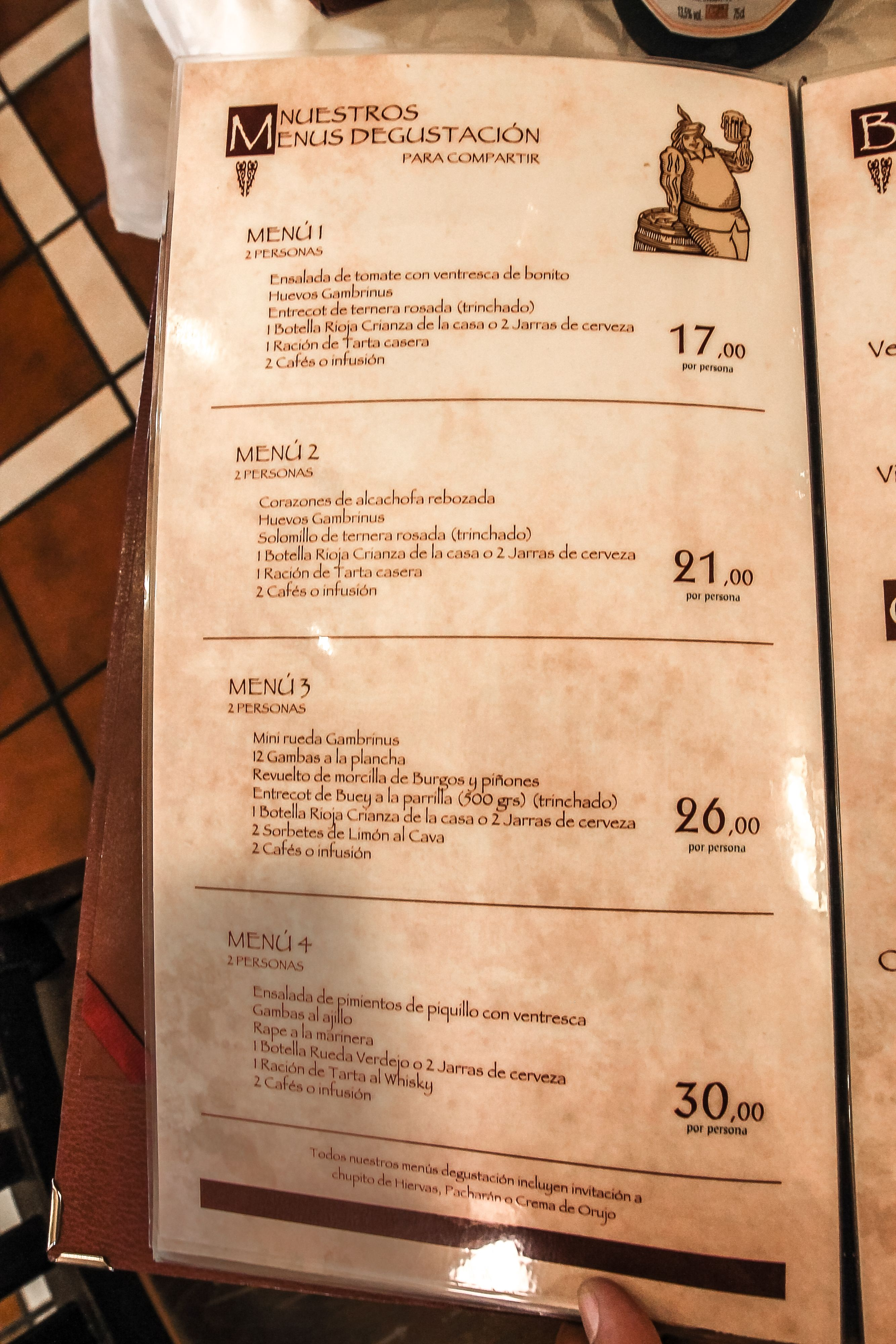 Foto 4 de Cocina tradicional en Madrid | Cervecería Restaurante Gambrinus Mirasierra