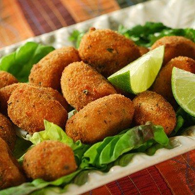 Croquetas de jamón ibérico y pollo: Carta de Cervecería Restaurante Gambrinus Mirasierra