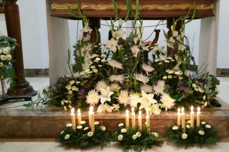 Arreglos Para Iglesias Catálogo De Flores De Sala Floristería