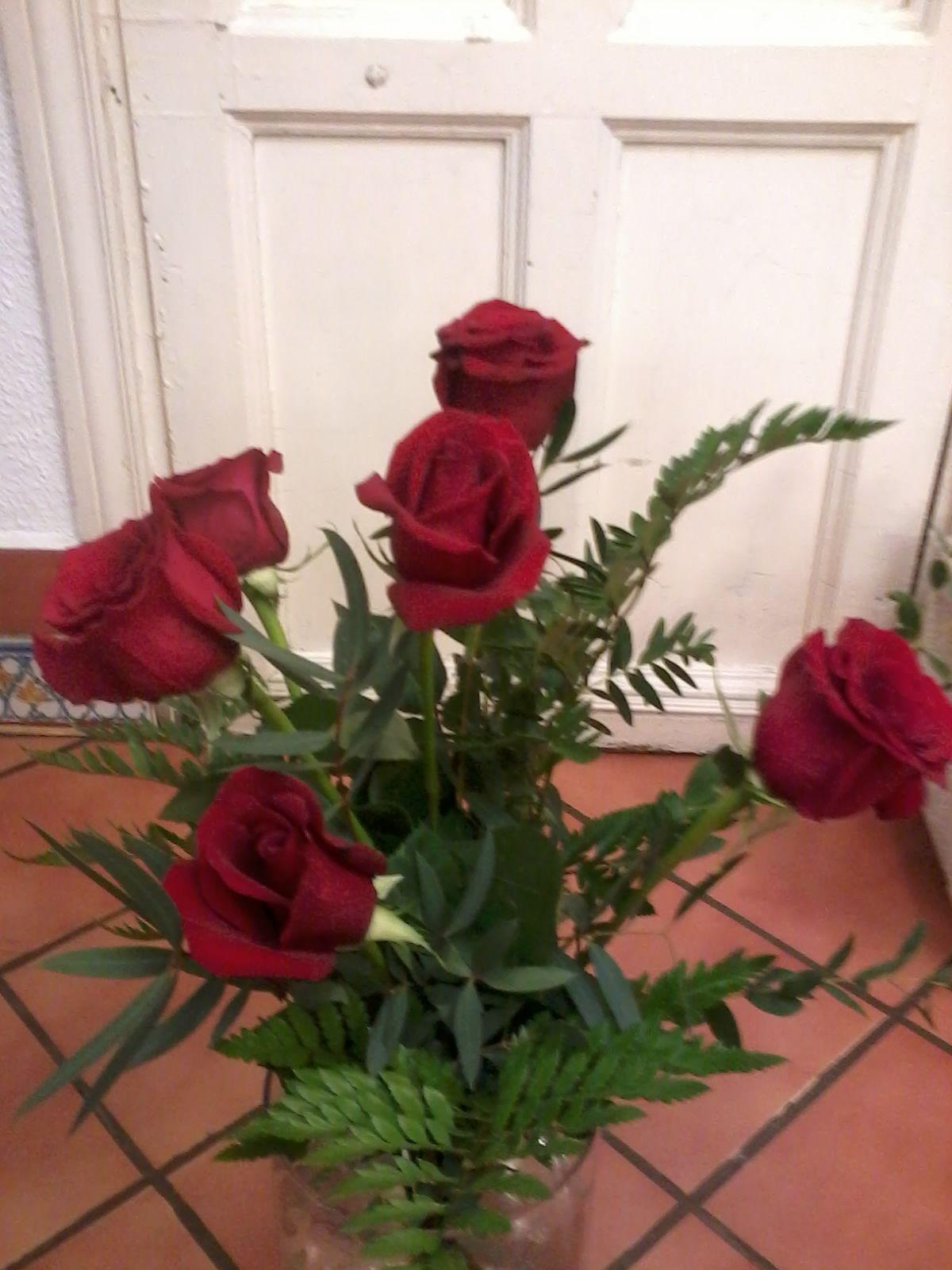 Ramo de rosas: Catálogo de Flores de Sala - Floristería