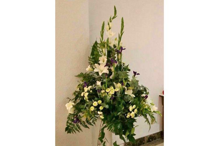 Arreglos florales para iglesia en Madrid