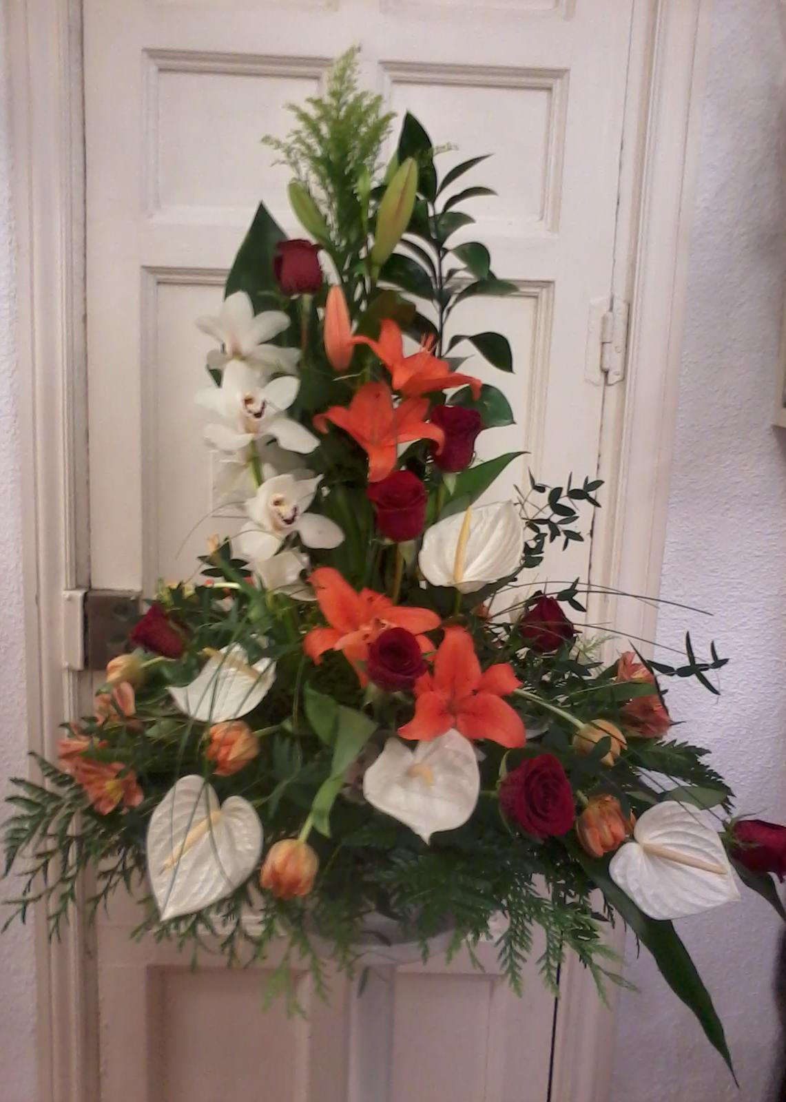 Centro de flor : Catálogo de Flores de Sala - Floristería