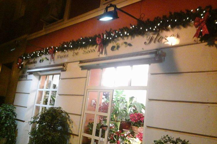 Fachada de nuestra floristería en Madrid