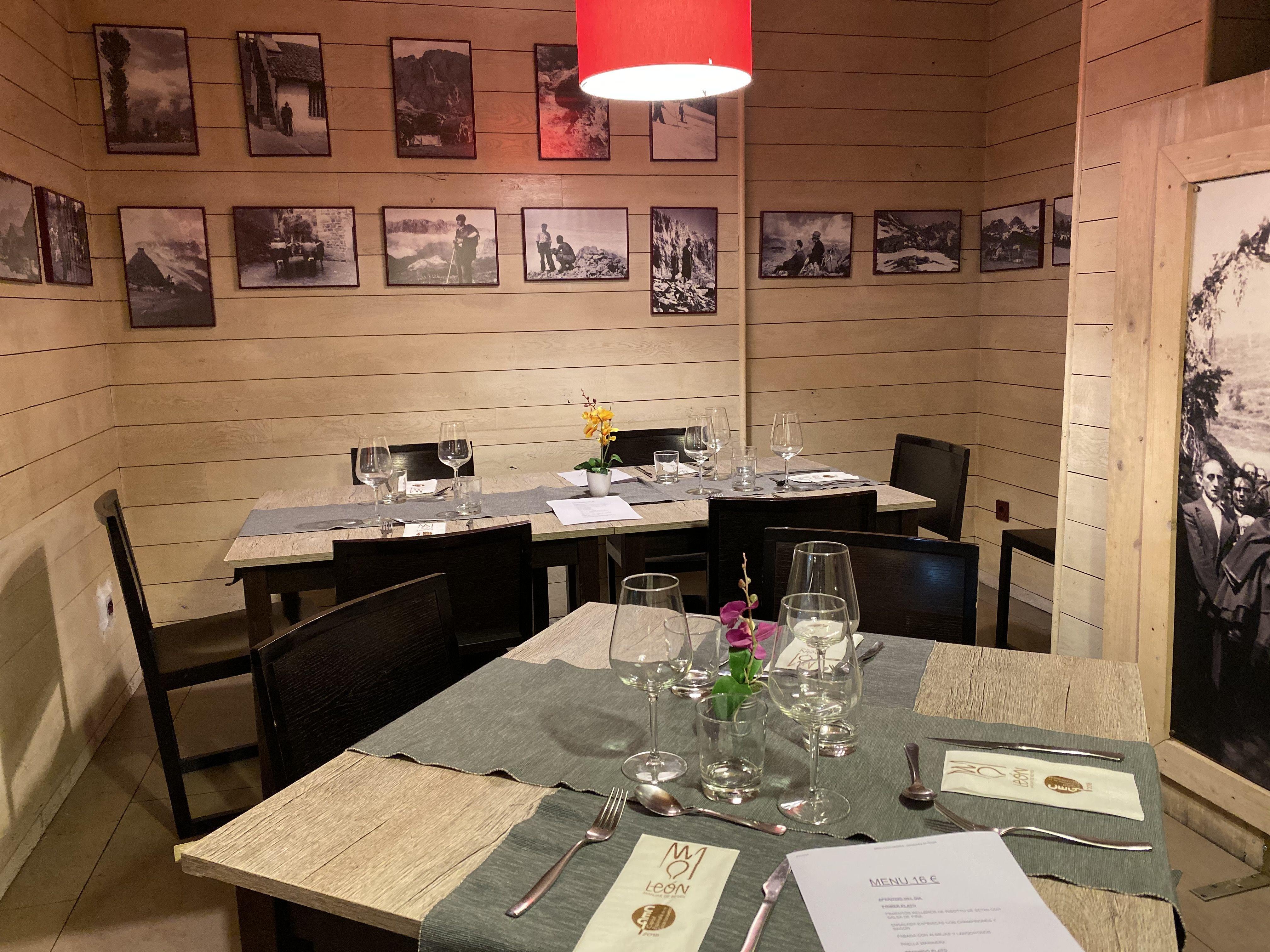 Restaurante de menú en León