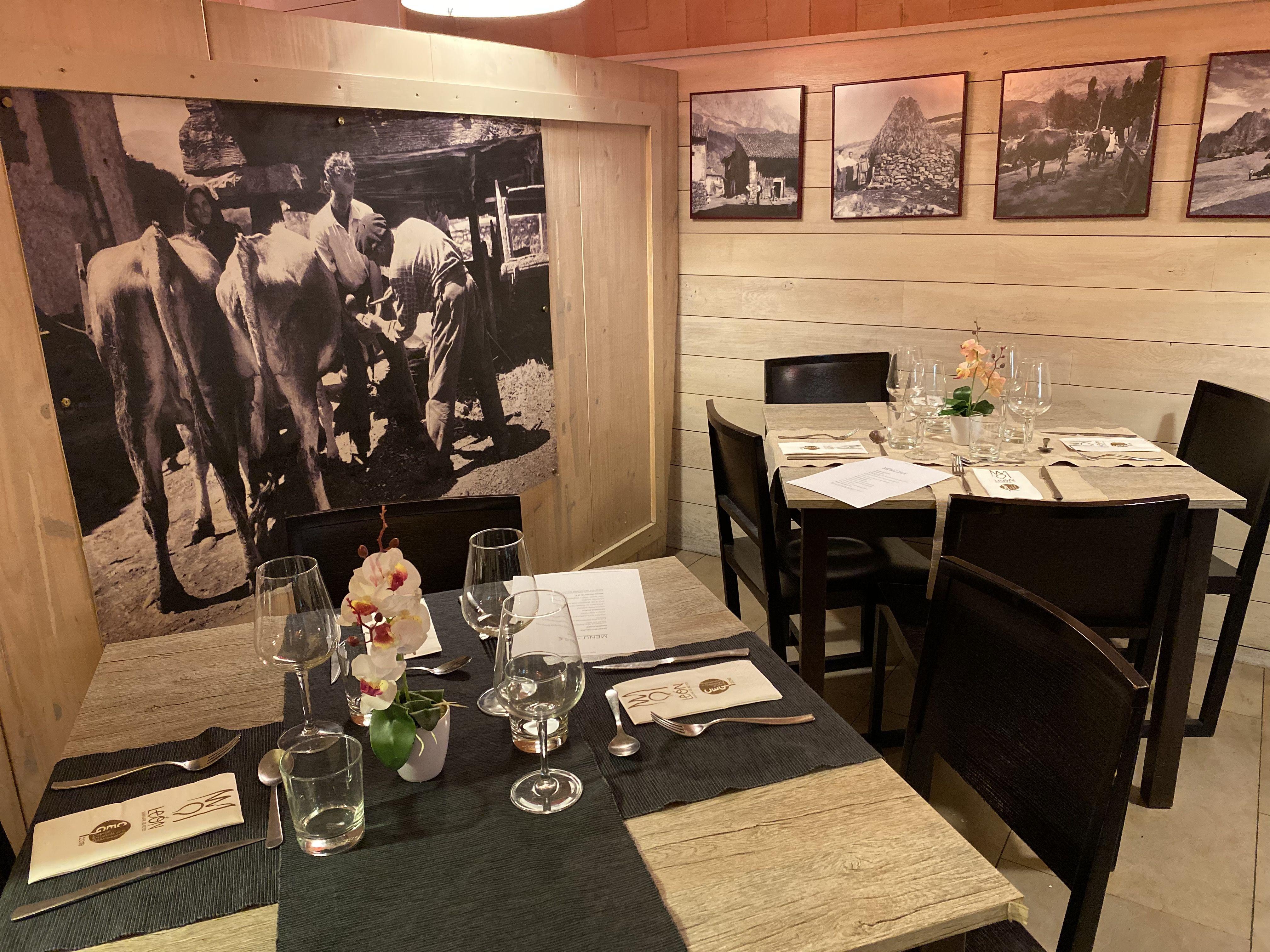 Restaurante de menú de fin de semana en León