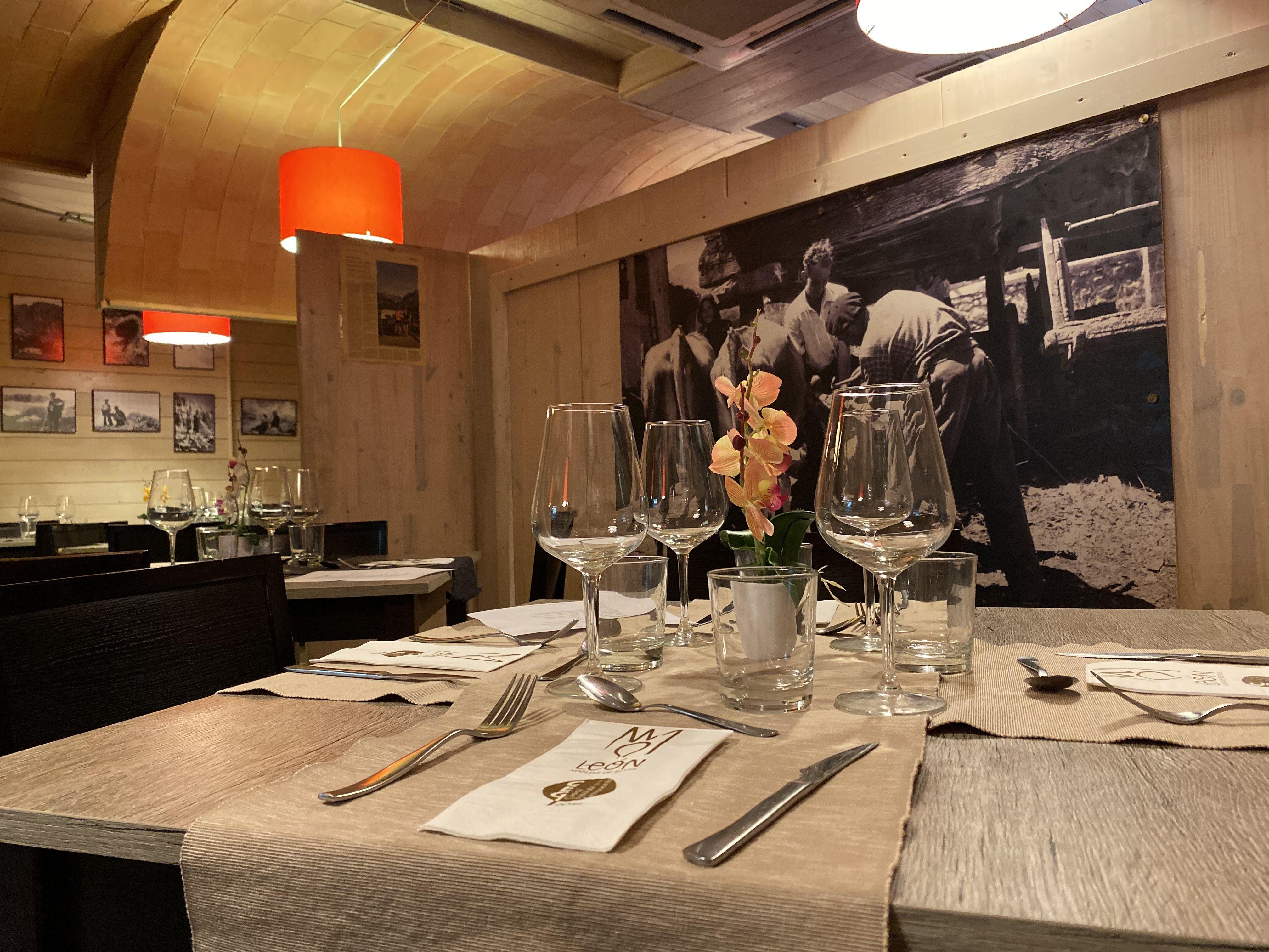 Restaurante de menú de grupo en León