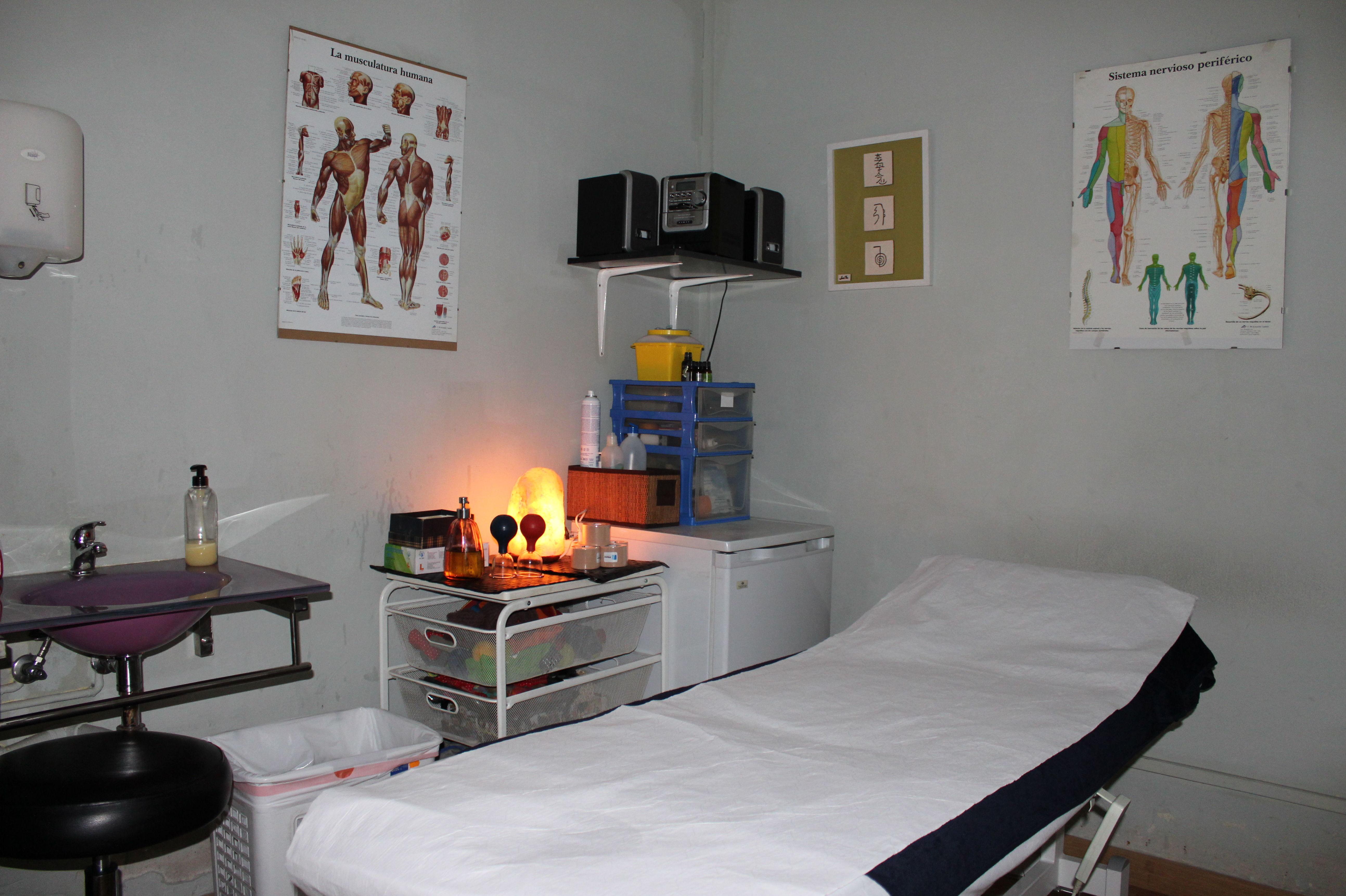 Consulta de fisioterapia Sabadell