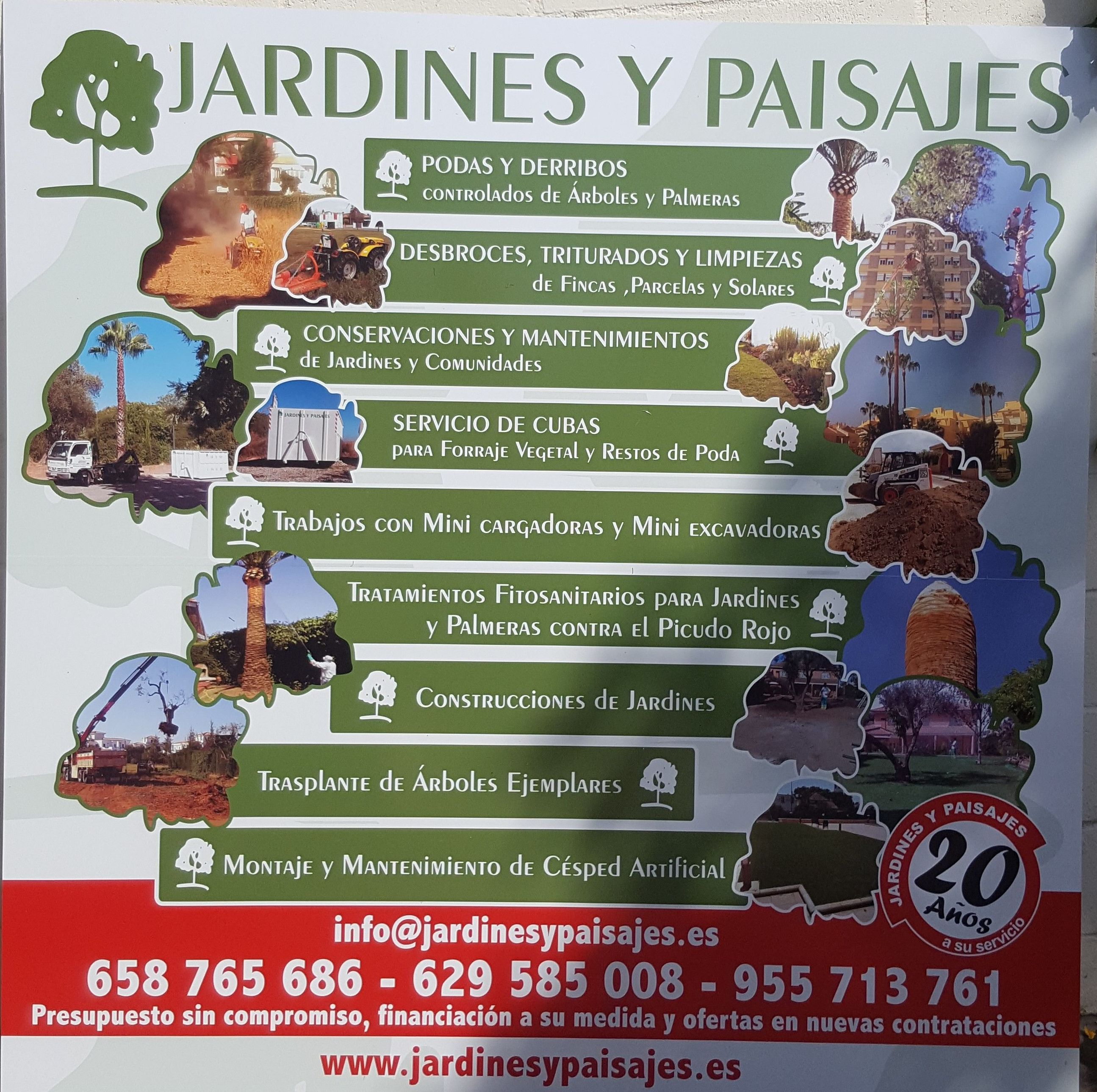 JARDINES Y PAISAJES