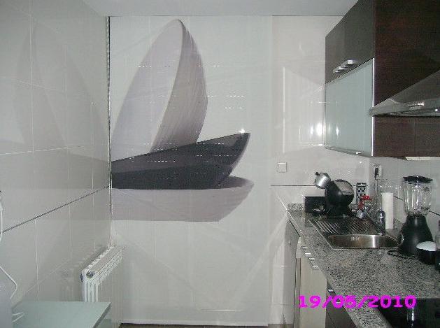 Paneles decorativos en cocinas