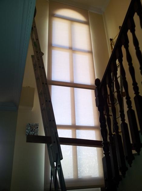 enrollables de screen en escalera