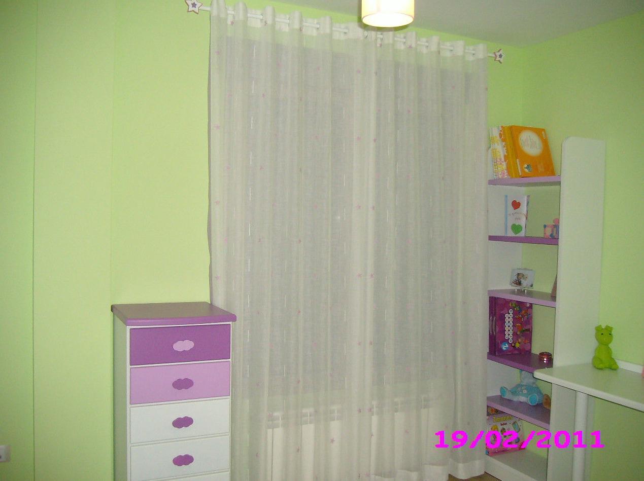 Instalación de cortinas