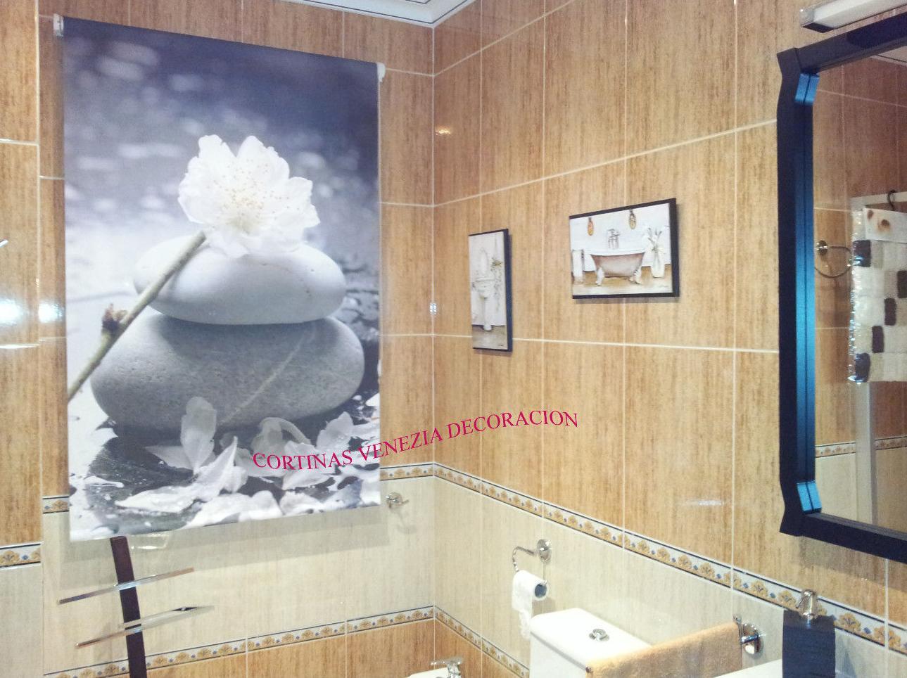 Estores para baños