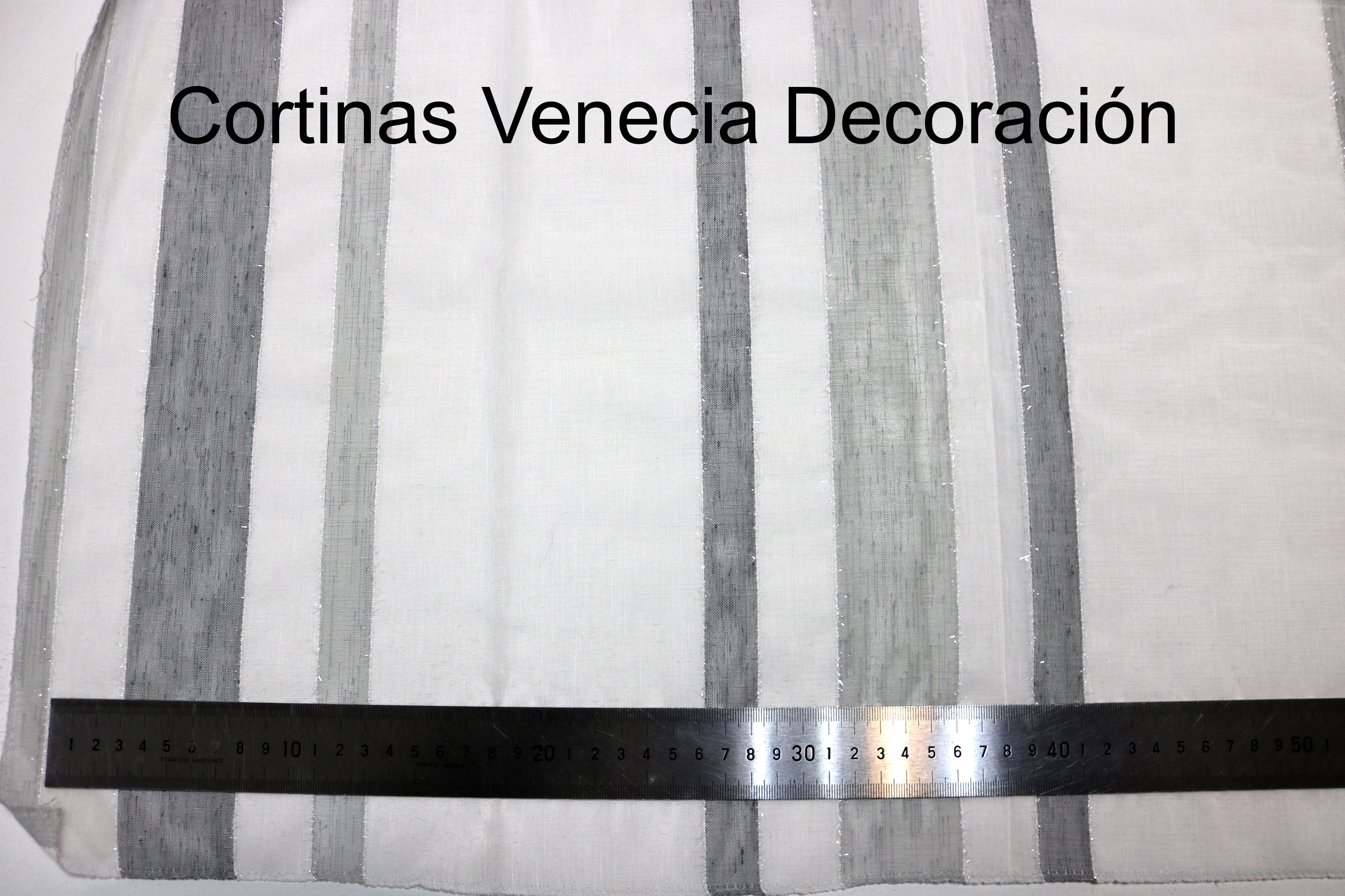 Rayas Gris Brillo: Catálogo de Venezia Decoración