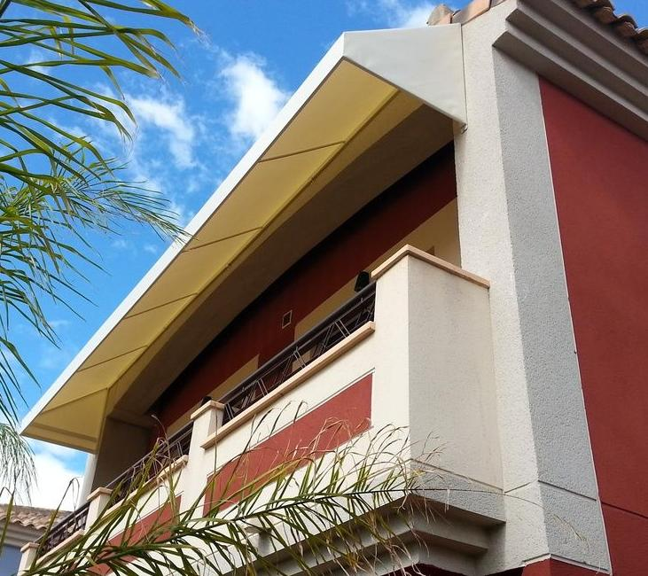Foto 7 de carpas en murcia toldos gea for Toldos para terrazas precios