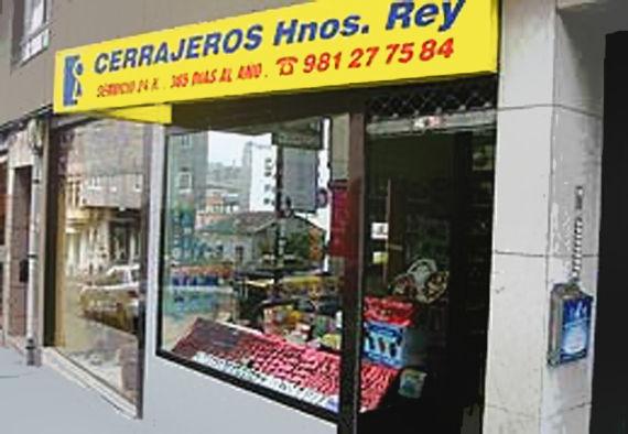 Foto 1 de Cerrajería en A Coruña | Cerrajero Hermanos Rey