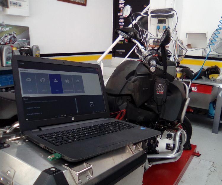 Reparación de motos con la última tecnología