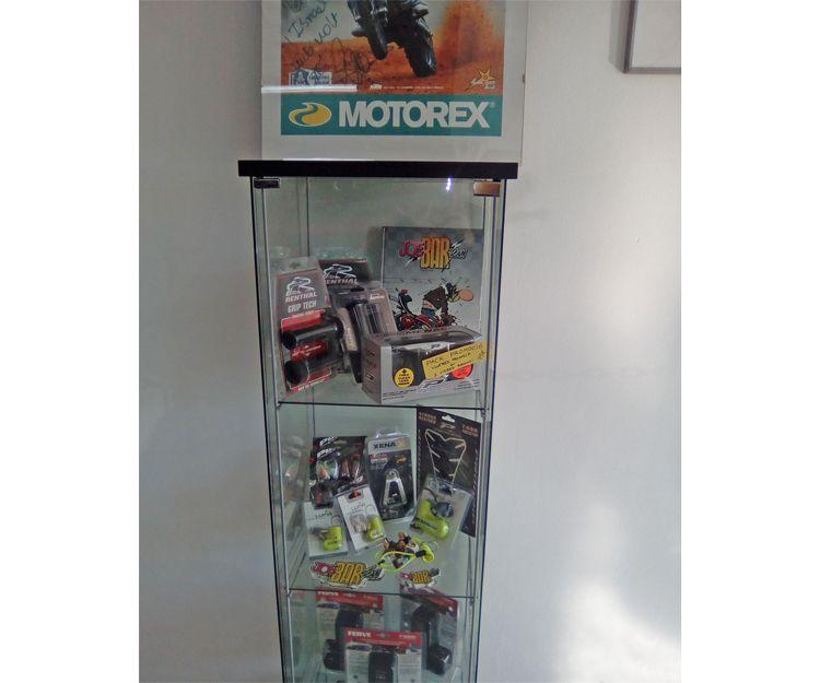 Venta de todo tipo de artículos para la moto