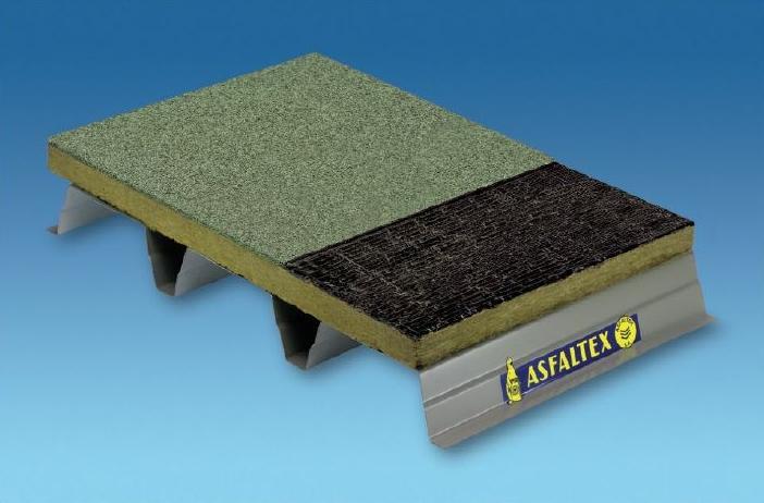 Cubierta plana no transitable. No ventilada. Autoprotegida. Cubierta Deck.