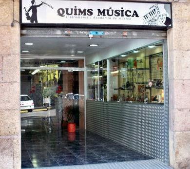 Tienda de instrumentos musicales en Tarragona
