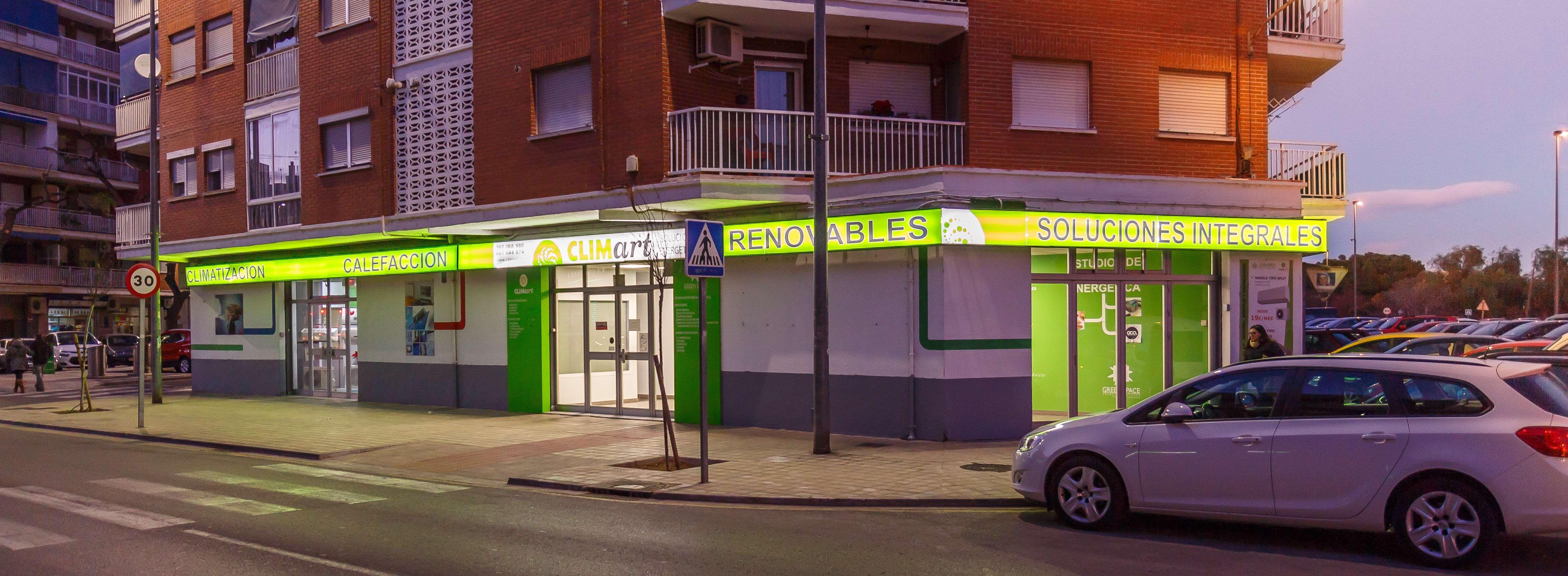 Tienda de sistemas de eficiencia energética en Valencia