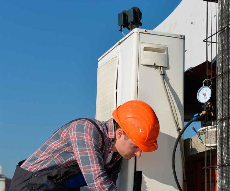 Trabajos de climatización industrial