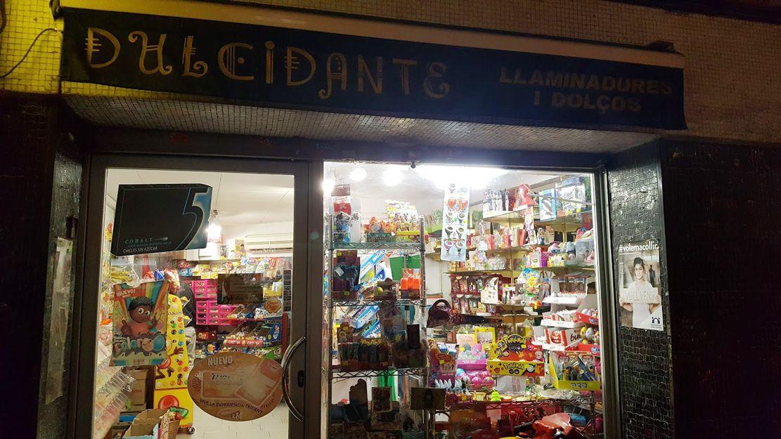 Dulcidante, tienda de golosinas en El Carmel, Barcelona