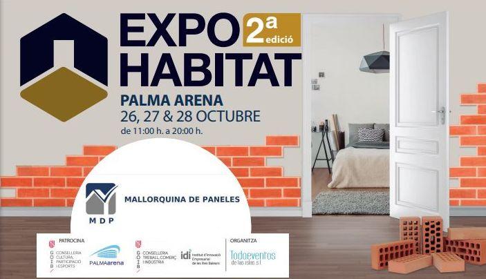 Mallorquina de Paneles estará en Expohabitat en el Palma Arena